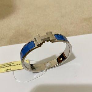 New HERMES Clic H Bracelet